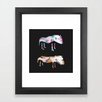 Poor Dogs Framed Art Print