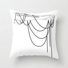 Black Pearl Dream Throw Pillow