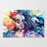 Like Wildfire Canvas Print