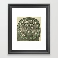 Owlustrations 3 Framed Art Print