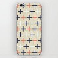 Midcentury Pattern 04 iPhone & iPod Skin