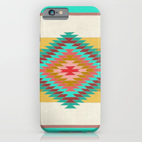 FIESTA (teal) iPhone & iPod Case