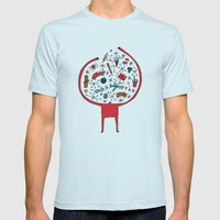 Holding It All Together Mens Fitted Tee Light Blue SMALL