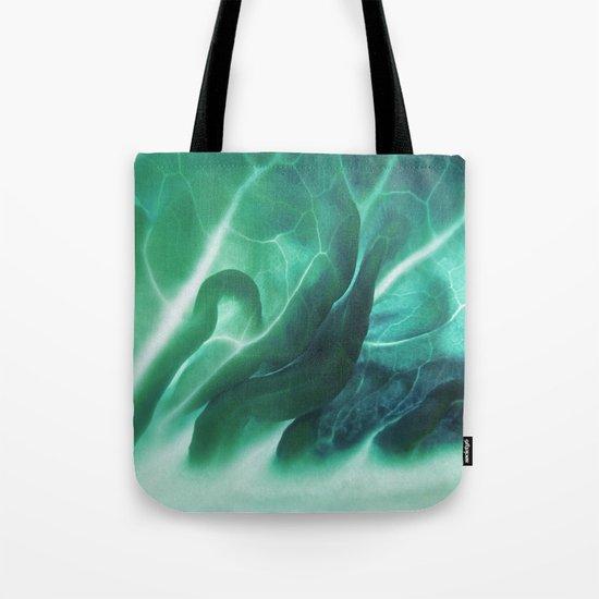 Aqua Plant (Art Of Food) Tote Bag