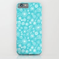 iPhone & iPod Case featuring White Flowers by Art Tree Designs