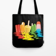 Summer Of Melted Dreams Tote Bag