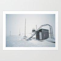Abandon Iqaluit D.E.W. Line Site 1 Art Print
