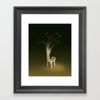 Strawberry Guava Tree Framed Art Print
