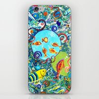 Fish Party iPhone & iPod Skin