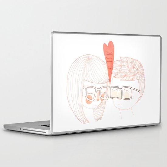 Nerd Kiss Laptop & iPad Skin