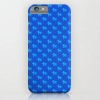 Dogs-Blue iPhone 6 Slim Case