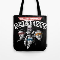 Brilliant Mind Ninja Sci… Tote Bag