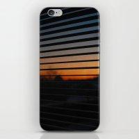 Sunset Patterns iPhone & iPod Skin