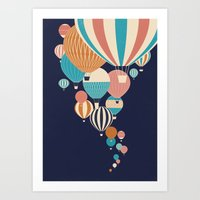 Art Print featuring Balloons by Jay Fleck