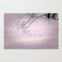 Winter Lines II Canvas Print