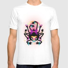 Crafty spider Mens Fitted Tee White SMALL