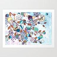 Fly Free II - The Branch… Art Print