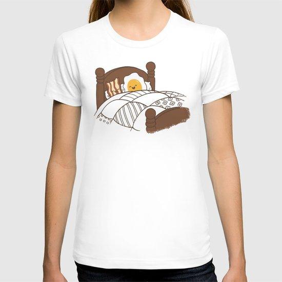 Breakfast In Bed  T-shirt