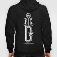 The Big D (wht) Hoody