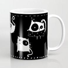 Cats On Black Mug