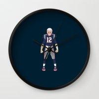 Pats - Tom Brady Wall Clock
