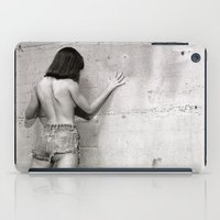 Wall flower girl iPad Case