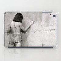 Wall Flower Girl iPad Case