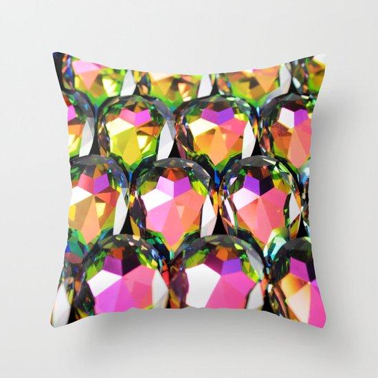 Stone Beetle Throw Pillow
