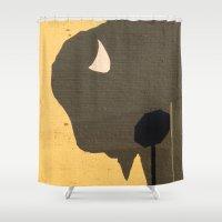 Stop Buffalo Shower Curtain