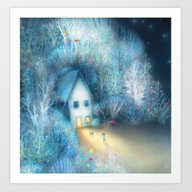 Art Print featuring Home by Lisa Evans