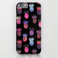 Tutti Frutti Black iPhone 6 Slim Case