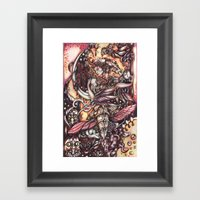 Linda Framed Art Print