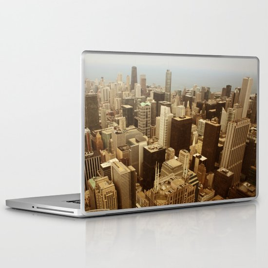 Chicago Roofs Laptop & iPad Skin
