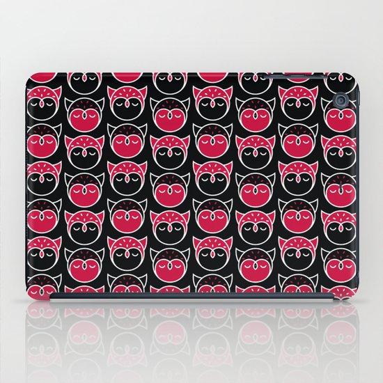 Owl Pattern iPad Case