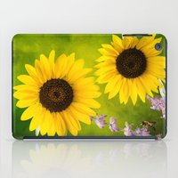 Sunflowers.  iPad Case