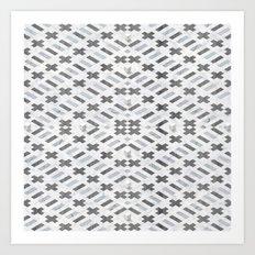 Digital Square Art Print