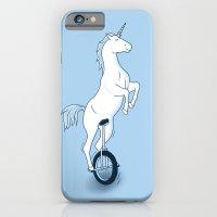 Unicorn On A Unicycle - … iPhone 6 Slim Case