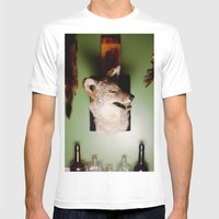 'Yote Mens Fitted Tee White SMALL