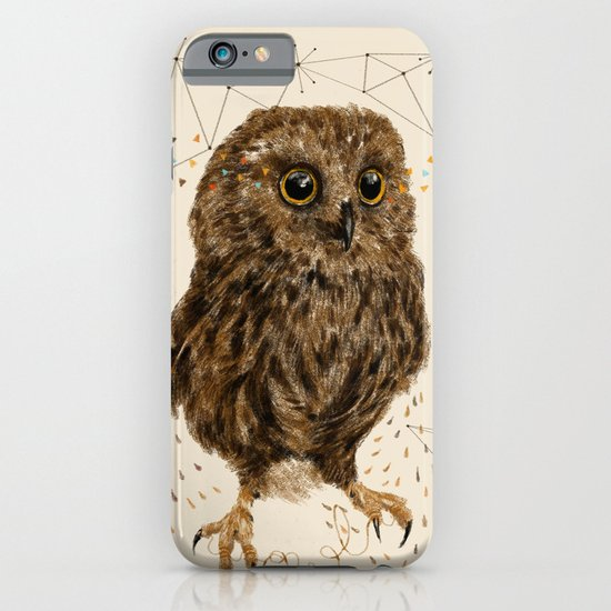 Mr.Owl IV iPhone & iPod Case