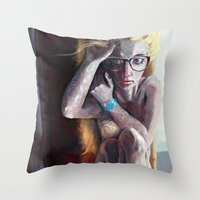 Decisions of Young Freedom Throw Pillow