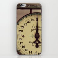 Vintage Scale iPhone & iPod Skin