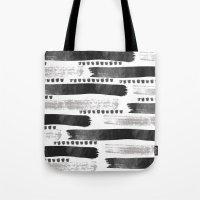 Brush Strokes #2 Tote Bag
