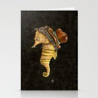 Time Travels With Us Stationery Cards