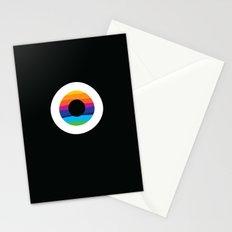 Rainbow evil eye Stationery Cards