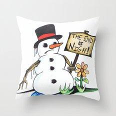 optimist  Throw Pillow