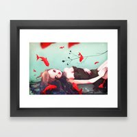 L'attente Framed Art Print