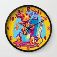 GROOVIN' THROUGH THE GAL… Wall Clock