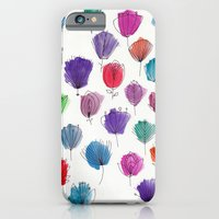 iPhone & iPod Case featuring Flower Pattern by Livi Po