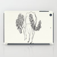 White horse iPad Case