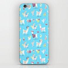 Alpaca Pattern iPhone & iPod Skin